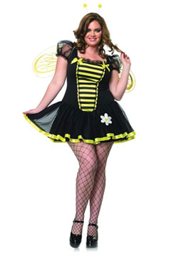 Plus Size Daisy Bee Costume