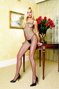 Industrial Net Spaghetti Bodystocking