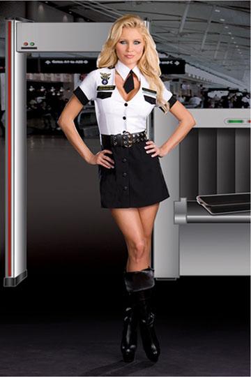 TSA Strip Search Costume