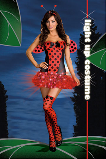 Light Me Up Ladybug Costume