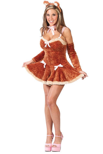Touch Me Teddy Costume