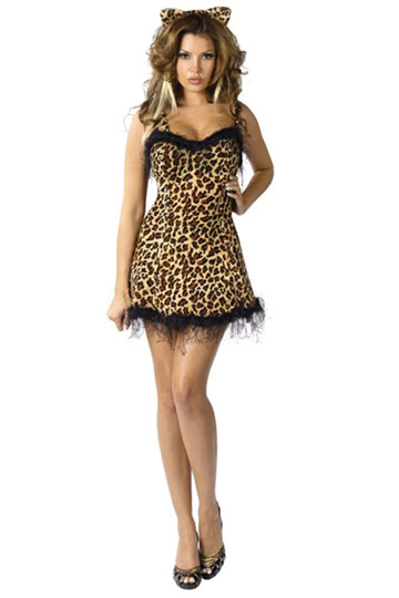 Jungle Kitty Costume