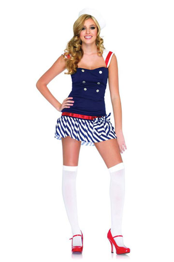 Harbour Hottie Costume