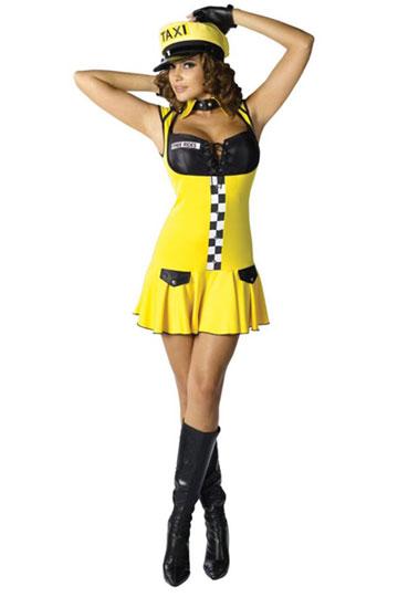 Sexy Cabbie Costume