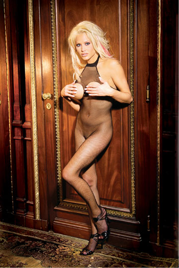 Open Bust & Crotch Bodystocking