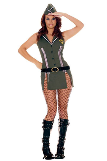 Adult Army Brat Costume