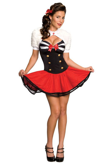 Naval Pinup Costume