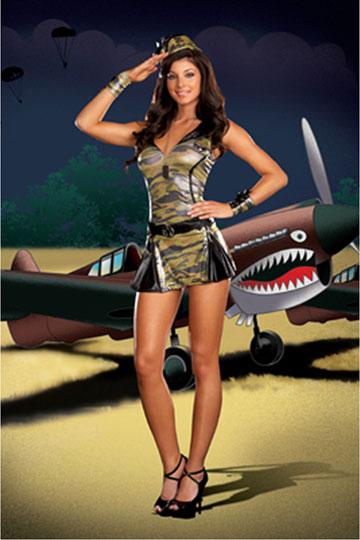 Sergeant Sassy Costume
