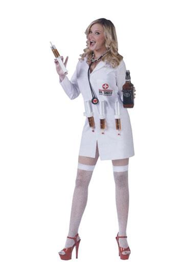 Female Dr. Shots Costume