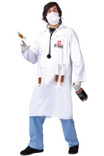 Male Dr. Shots Costume