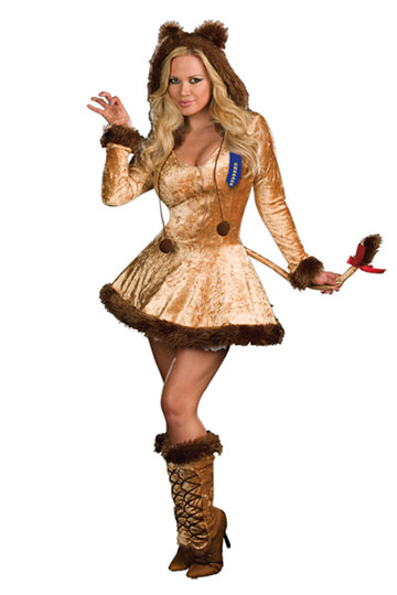 Cowardly Lion Cutie Costume