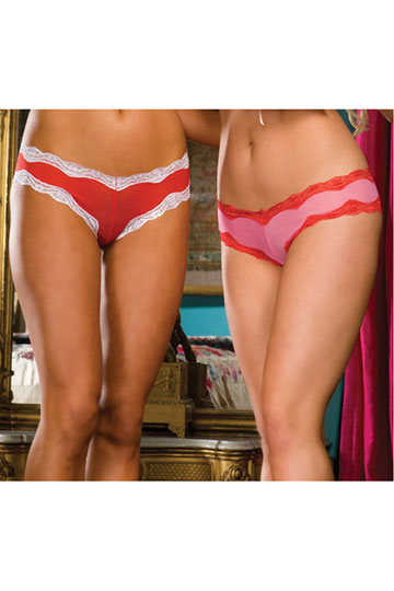 Love You Kiss Me Panty Set