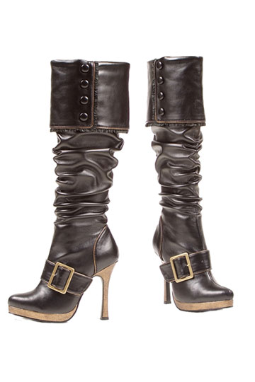Knee High Buckle Boot
