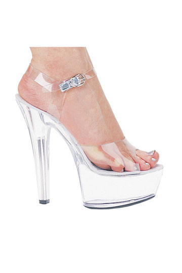 Brook Clear Platform Shoes
