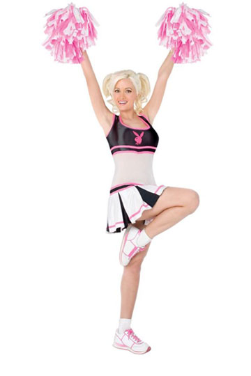 Playboy Cheerleader Costume