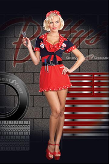 Betty's Full Service Costume