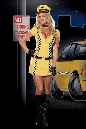 Tina Taxi Driver Costume