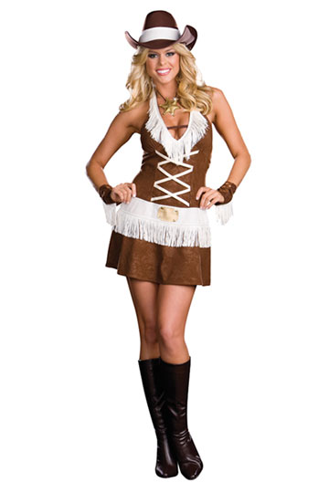 sexy cowgirl halloween costumes western cowgirl costume. Black Bedroom Furniture Sets. Home Design Ideas