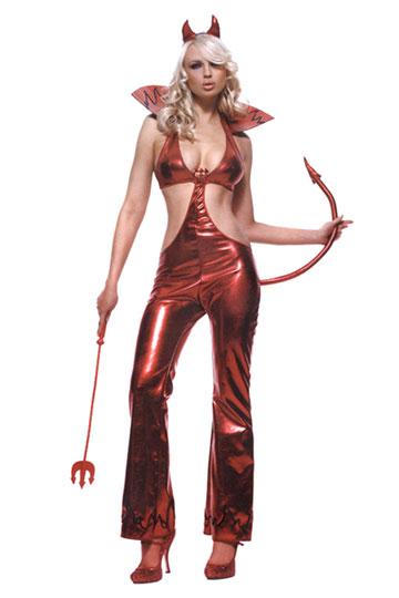 Devil Jumpsuit Costume
