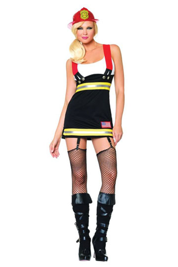 Backdraft Babe Costume