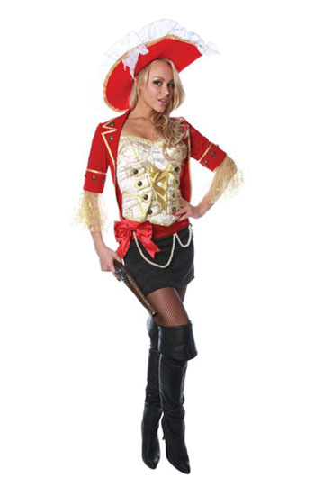 Seductive Pirate Costume