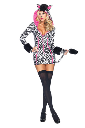 Savannah Zebra Costume