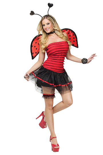 Cute Lady Bug Costume  sc 1 st  Foxy Lingerie & Sexy Ladybug Costumes | Lady Bug Adult Halloween Costumes | Foxy ...