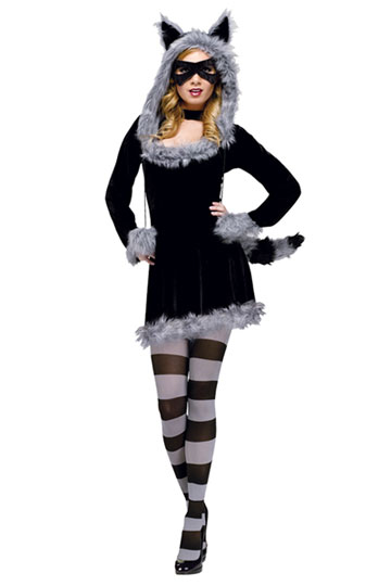 Racy Raccoon Costume