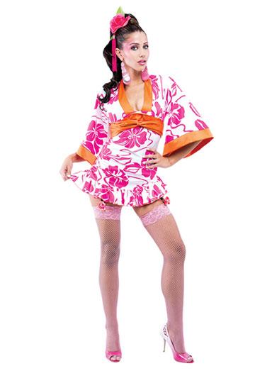French Kiss Geisha Woman Costume