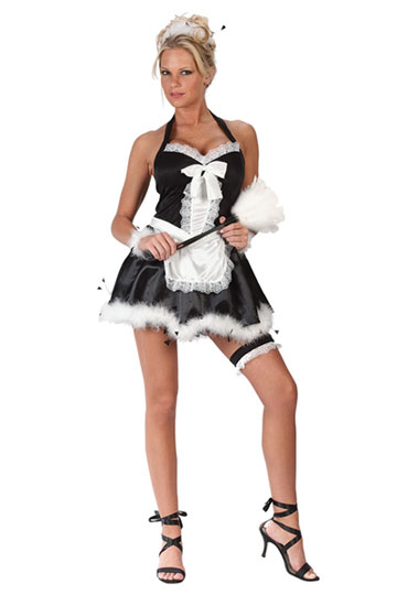 Maid Upstairs Costume
