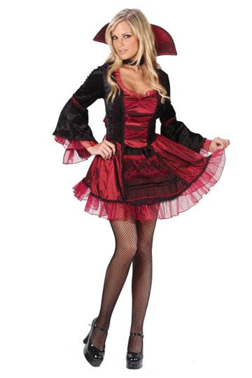 Sassy Victorian V&iress Costume  sc 1 st  Foxy Lingerie & Sexy Vampire Costumes Vampire Costume Vampire Halloween Costume