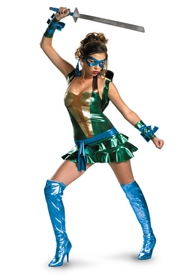 Sassy Leonardo TMNT Costume