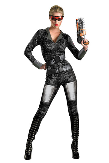 Ors Lady Commando Costume