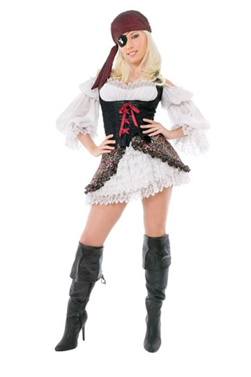 Playboy Buccaneer Costume