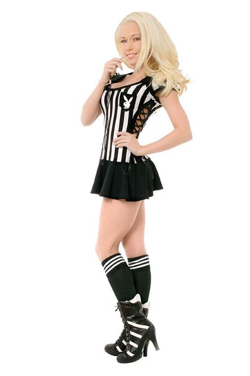 Playboy Racy Referee Costume