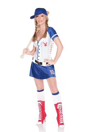Playboy Homerun Hottie Costume