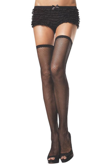 Fishnet Stockings with High Elastic