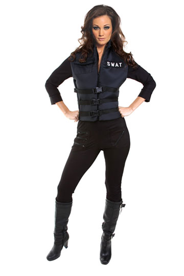 Lady Swat Costume