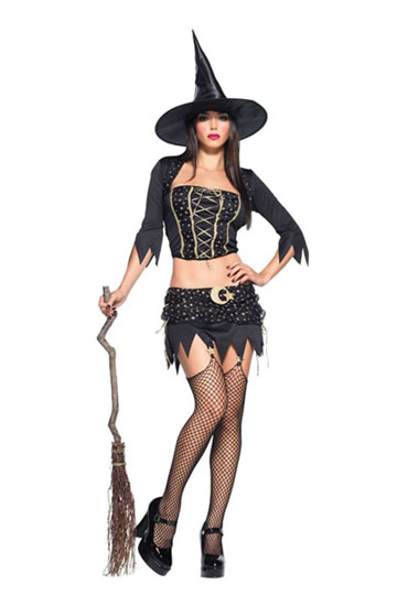 Midriff Witch Costume