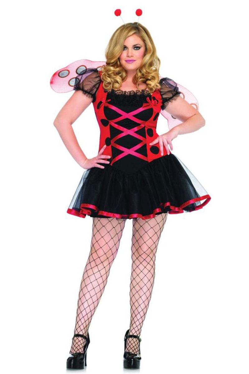 Plus Size Lovely Lady Bug Costume