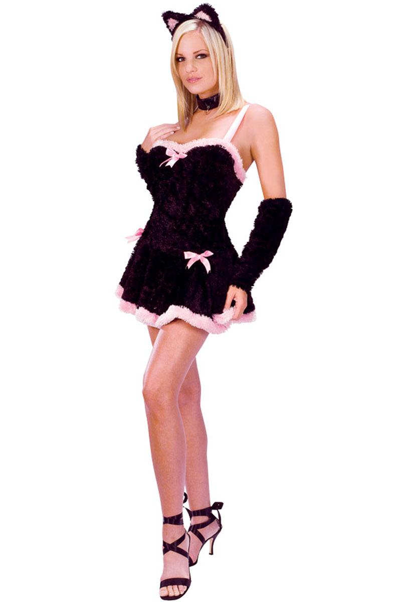 Kiss Me Kitty Costume