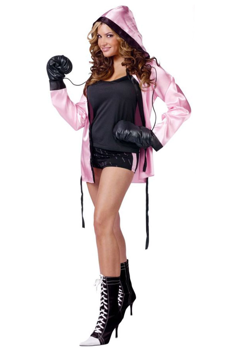 Knockout Sexy Boxer Costume