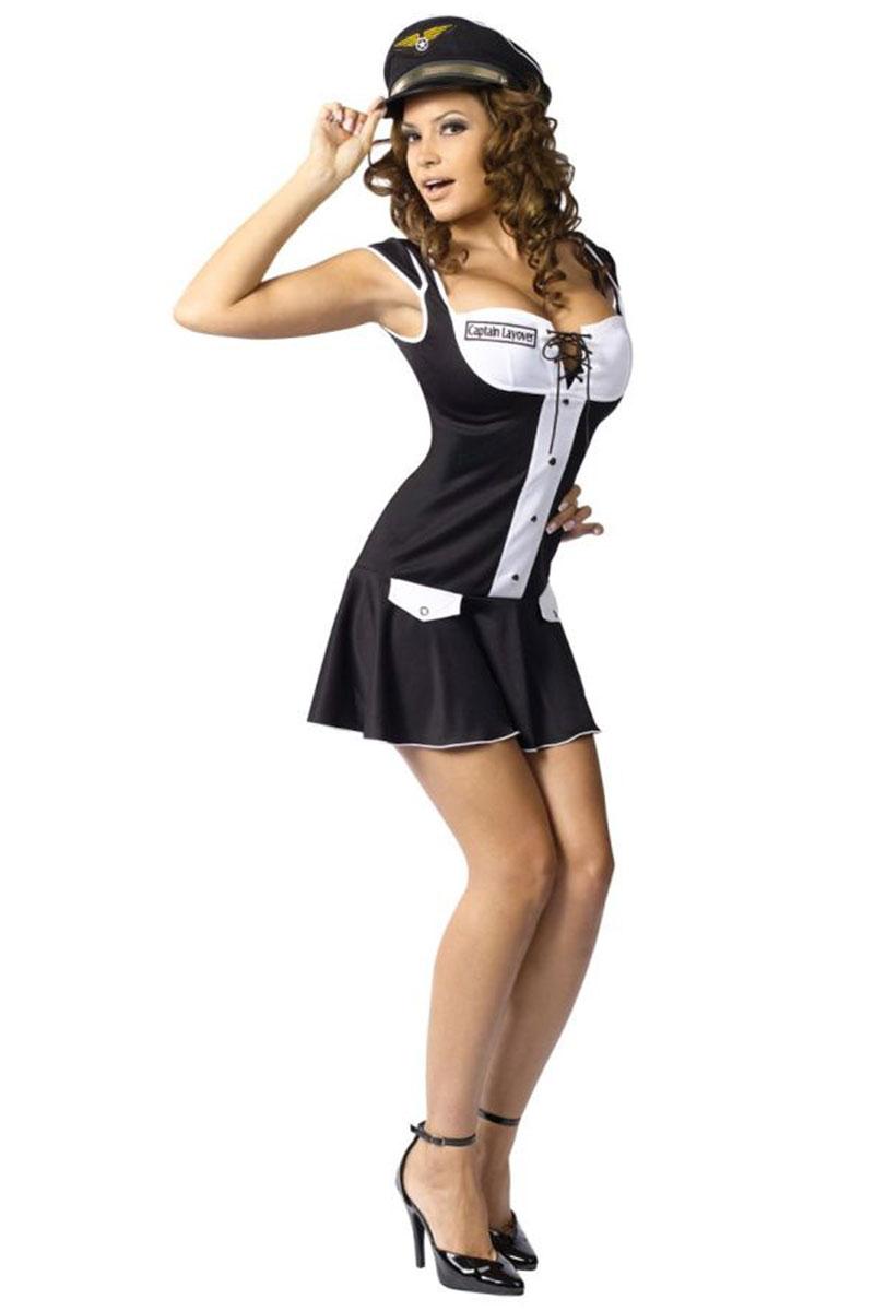 Captain Layover Costume
