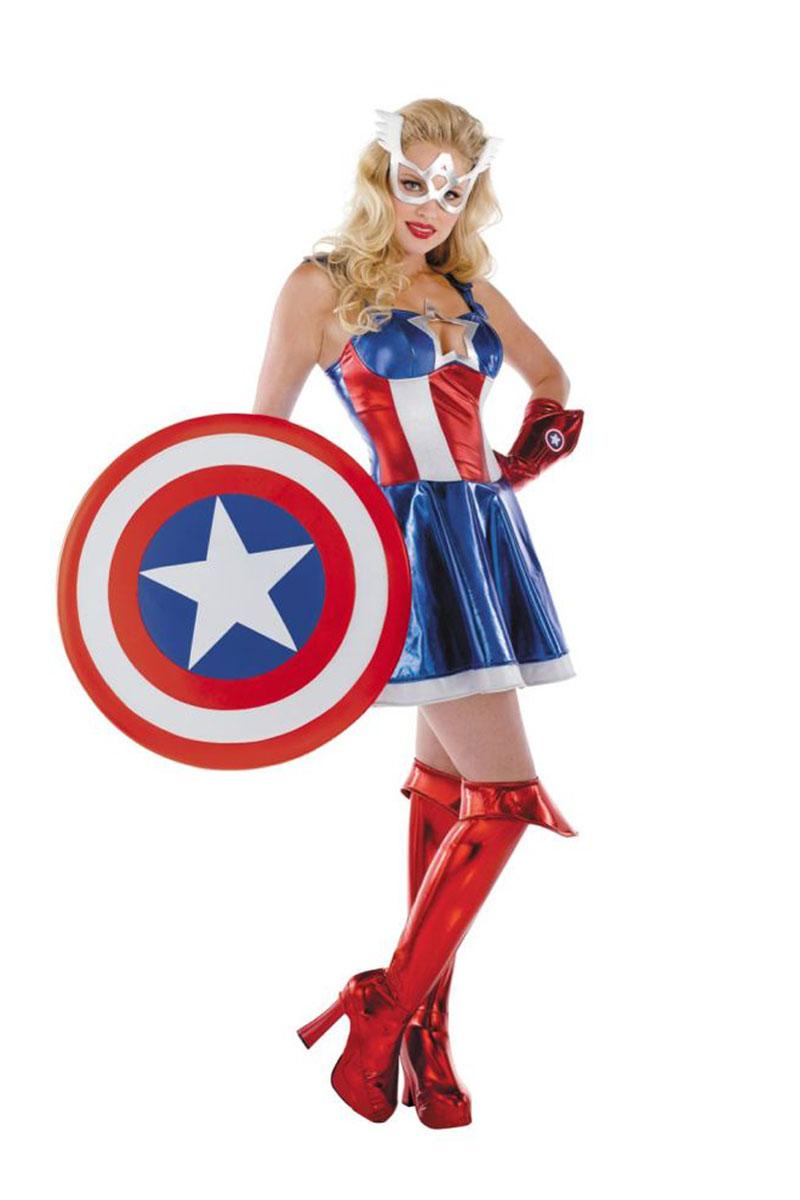 Captain America Sassy Costume