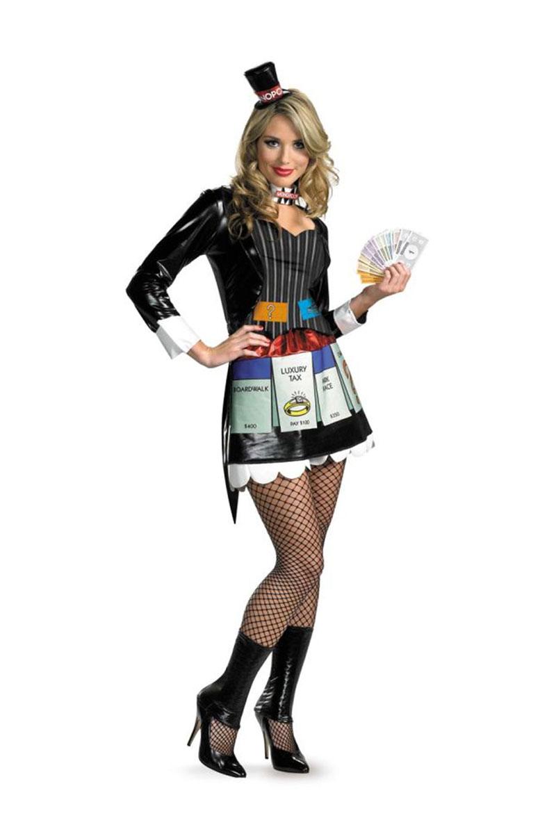 Monopoly Sassy Costumes