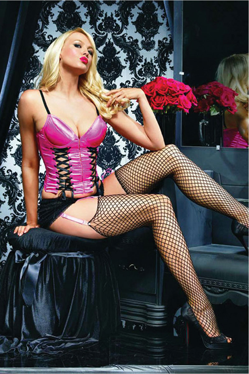 Push Up Double Corseted Bustier