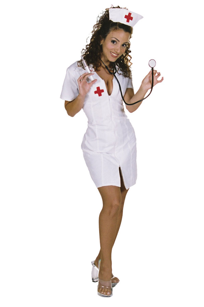 Hot Flash Nurse Costume