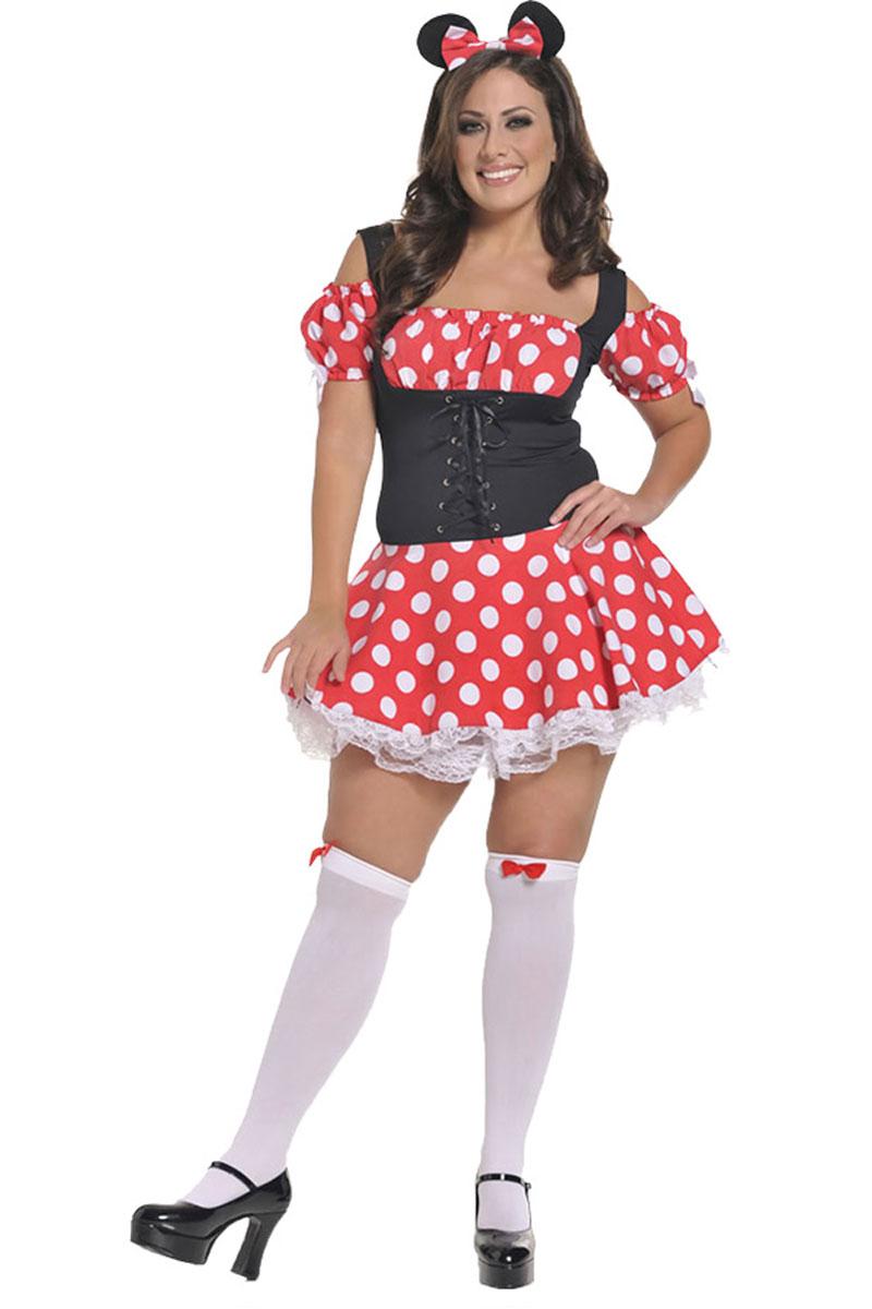 Plus Size Micky's Mistress Costume