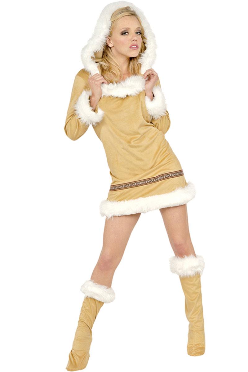 Eskimo Kisses Adult Costume