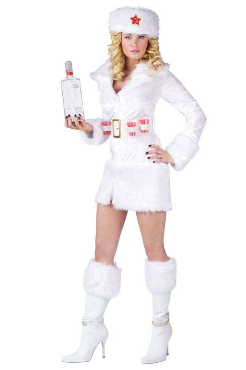 White Russian Adult Costume